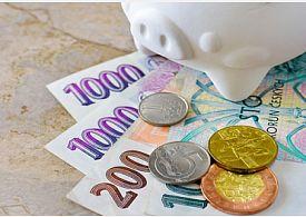 Peníze - české koruny