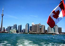 Studium a práce v Kanadě