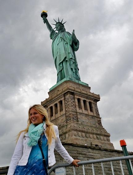New York a dvě sochy svobody