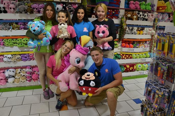 Team na noční směny v CandyKitchen!