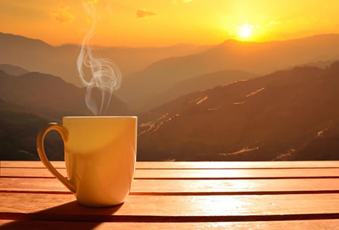 Dejte si kávu a odpočiňte si.