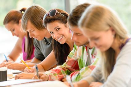 Veselí studenti