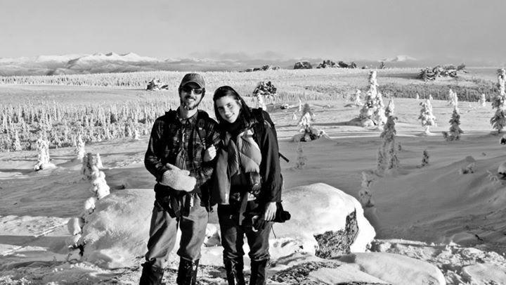 Pár na Aljašce
