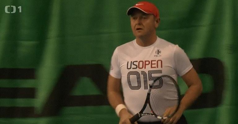 Jan Mühlfeit jako tenista