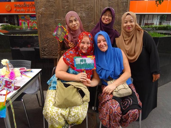 Indonéské studentky