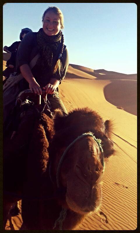 Jezdění na velbloudech, Maroko