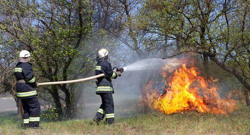Hašení požáru