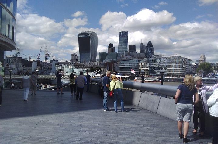 Práce v Londýně