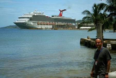 Krupiéři na zámořských výletních lodích
